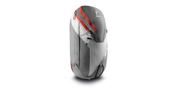 ABS Vario Zip-On 24 Backpack silver/orange